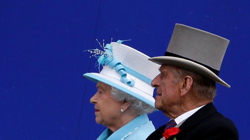 Felipe, el duque de Edimburgo junto a la Reina el 18 de junio de 2010. Foto: Reuters