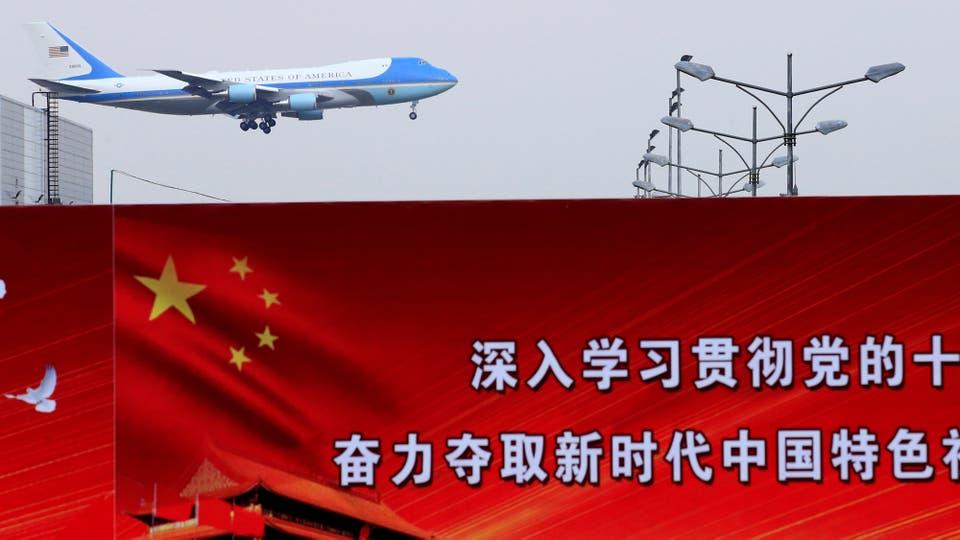 Donald Trump visita China en el marco de la gira por cinco países de Asia. Foto: Reuters / Aly Song
