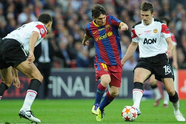 El endiablado dribbling de Lionel Messi