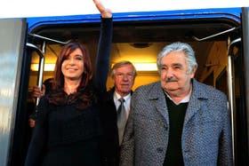 Los presidentes de Uruguay y Argentina en un reciente encuentro entre ambos