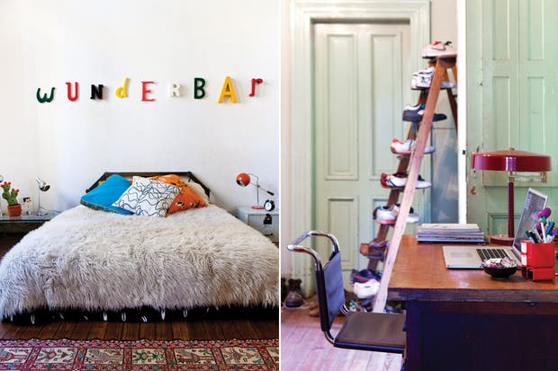 """Wunderbar"""" (maravilloso, en alemán), describe en una sola palabra el espíritu de una casa donde no hay recursos obvios y a cada paso hay algo que emociona desde la nostalgia o desde el diseño.."""