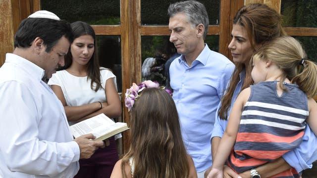 Macri recibió a las hijas de Nisman en su quinta Los Abrojos