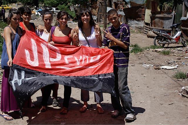 En el partido bonaerense de San Martín, el Movimiento Evita tiene fuerte presencia