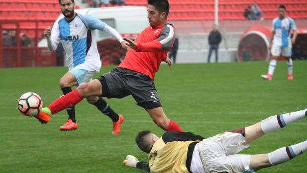 Leandro Fernández marcó para el triunfo del Rojo