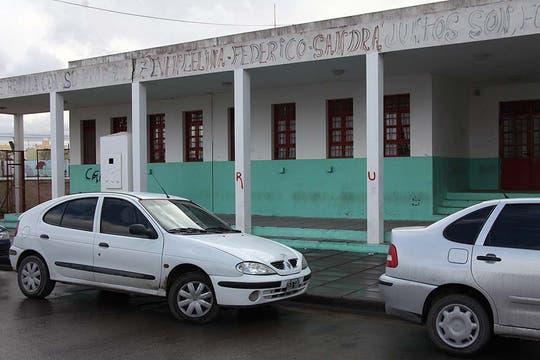 La escuela Islas Malvinas, donde ocurrió la tragedia. Foto: LA NACION / Matías Aimar