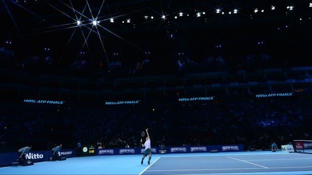 Goffin completó el cuarteto de semifinales del Masters