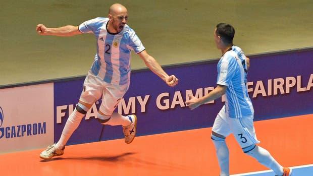 Argentina finalista en Futsal