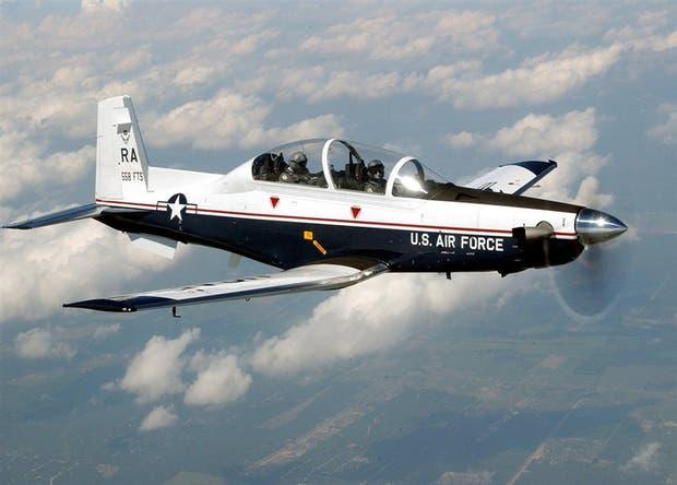 Un TC-6 Texan de la fuerza aérea de los Estados Unidos