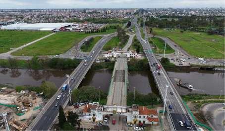 La nueva imiagen del puente La Noria