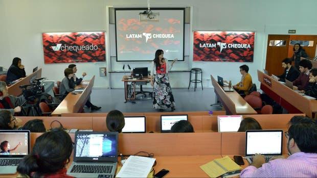Participantes del evento Latam Chequea