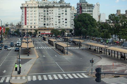 Constitución, sin pasajeros. Foto: LA NACION / Fernando Massobrio