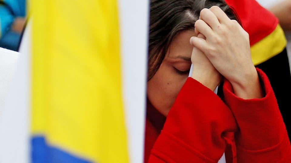 La abstención se situó en el 62%, en un país de clara tendencia abstencionista. Foto: EFE / Leonardo Muñoz