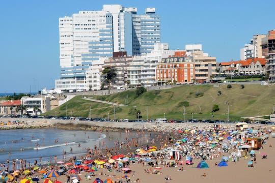 Mar del Plata vivió el fin de semana largo con una gran afluencia de turistas. Foto: Télam