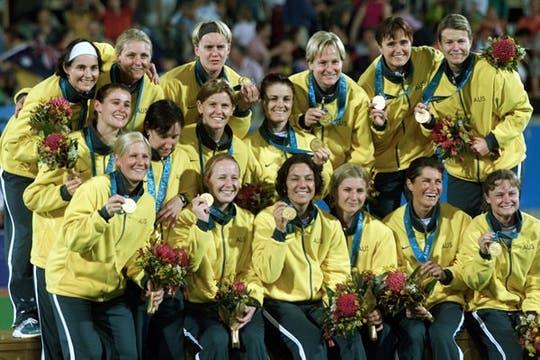 Australia 2000, considerado por muchos como el mejor equipo de hockey femenino de la historia. Foto: AP
