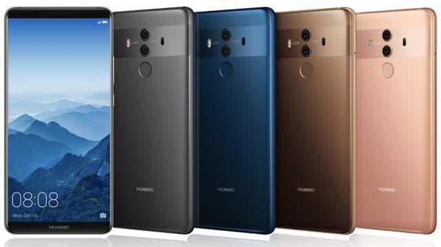 La pantalla del Huawei Mate 10 Pro, como la del Galaxy S8, reduce al mínimo los bordes