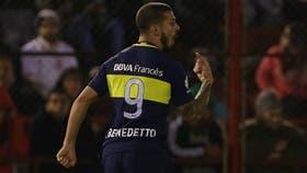 Benedetto, el único Nº 9 de Boca