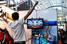 Una vista de la edición 2011 del Evento de Videojuego Argentina