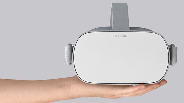 Los anteojos Oculus Go tienen todo el hardware integrado y no requieren de un procesador externo