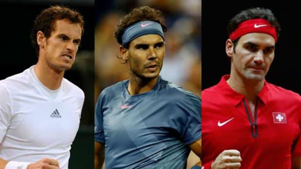 Murray, Nadal y Federer pelearán por el N°1 en Nueva York