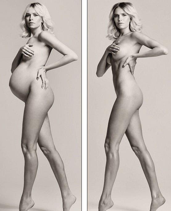 La obscena intimidad del cuerpo real de una mujer