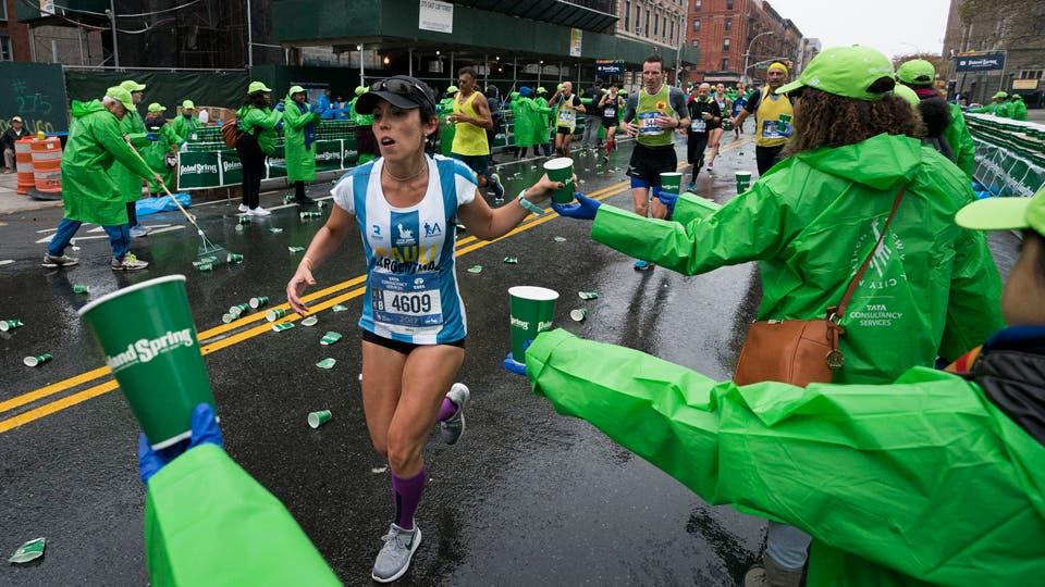 Doscientos argentinos homenajearon a las víctimas rosarinas en la maratón de Nueva York