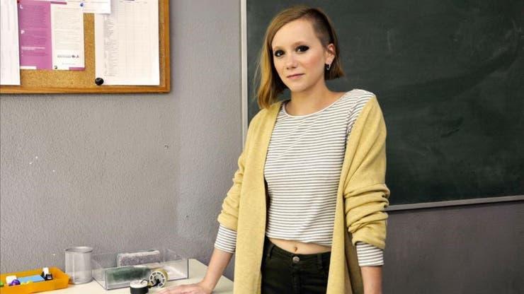 Oksana es la nueva alumna del curso