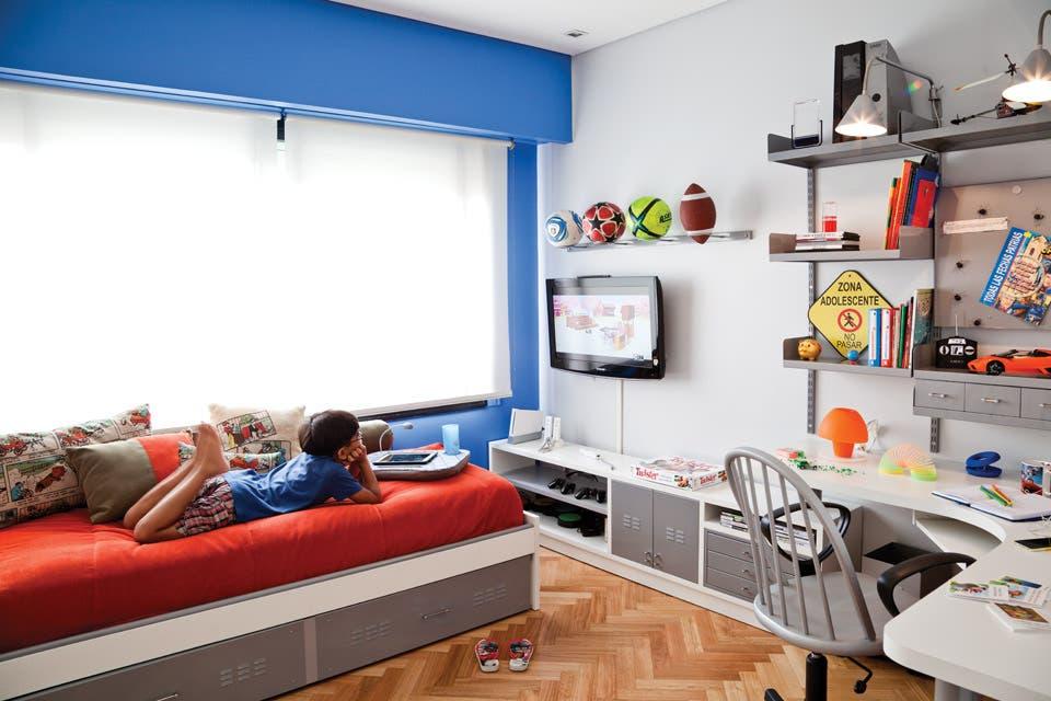 Un cuarto infantil canchero y colorido
