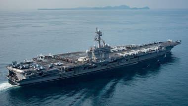 La flota con la que Trump amenazó a Corea del Norte iba con rumbo contrario
