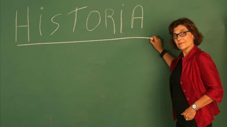 Coralina, profesora de historia española y némesis de Merlí