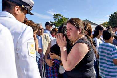 El jefe naval habló del valor de estos marinos y el impacto que significa su ausencia