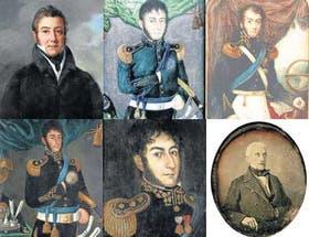 Desde 1818 hasta 1848, dos años antes de su fallecimiento, San Martín fue retratado por F. J. Navez, José Gil de Castro y un autor anónimo que se cree fue una profesora de pintura de su hija, Mercedes