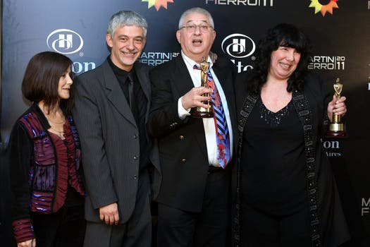 Más ganadores: Adrián Paenza y Marita Monteleone. Foto: DyN