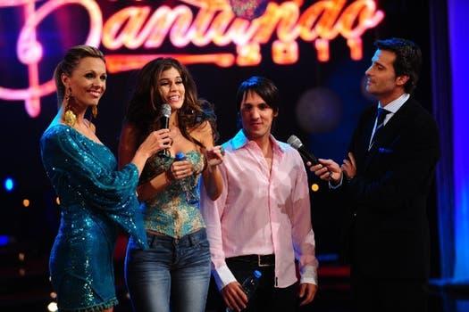 Luego de bailar, a Loly le propusieron cantar.. Foto: Ideas del Sur