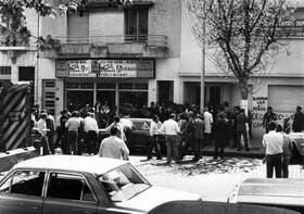 El ataque a Rucci frente a su casa, en 1973