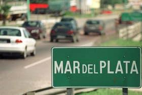 La Autovía 2 hacia Mar del Plata estaba muy cargada desde temprano