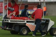 Ocho meses después del choque con Tevez, Ham volvió a jugar al fútbol