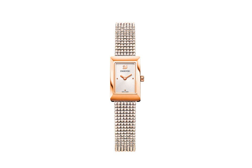 Reloj con cristales (Swarovski, $14792).