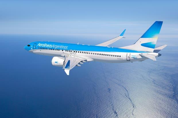 Uno de los aviones Boeing