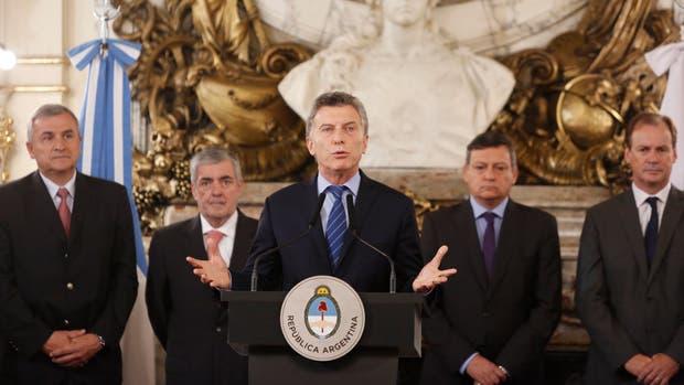 Macri, con los gobernadores
