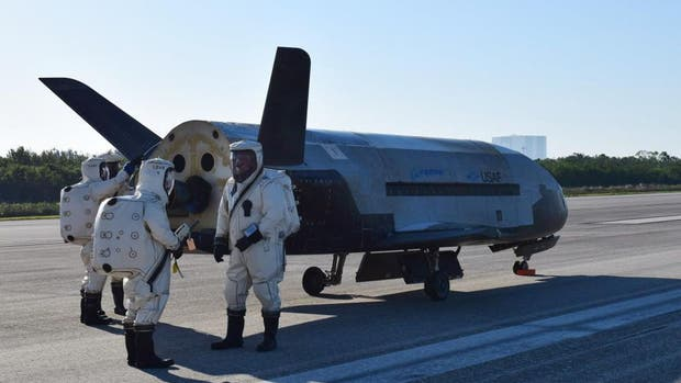 EE.UU.: regresó un vuelo de la NASA y provocó una explosión sónica