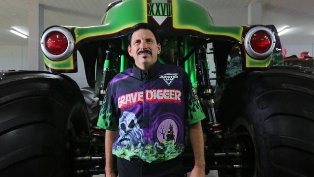 Uno de los protagonistas de Monster Jam Truck, Grave Digger