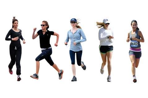 Famosas y locas por el running