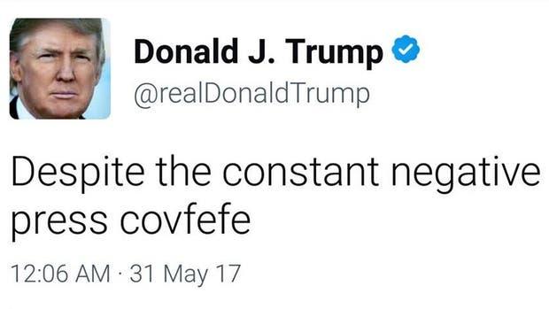 ¿Qué quiso decir? Trump escribió un tuit misterioso y ahora llama a descifrarlo
