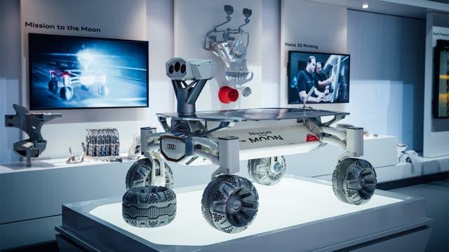 El rover de la Mission to the Moon