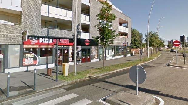 El incidente ocurrió frente al liceo Saint-Exupéry de la localidad francesa de Blagnac