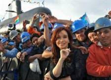 """Cristina Kirchner: """"El ARA San Juan durará 30 años"""""""