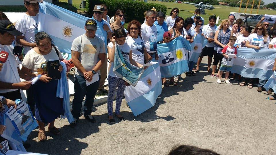 Marcharon por Mar del Plata para reclamar un operativo de búsqueda más amplio