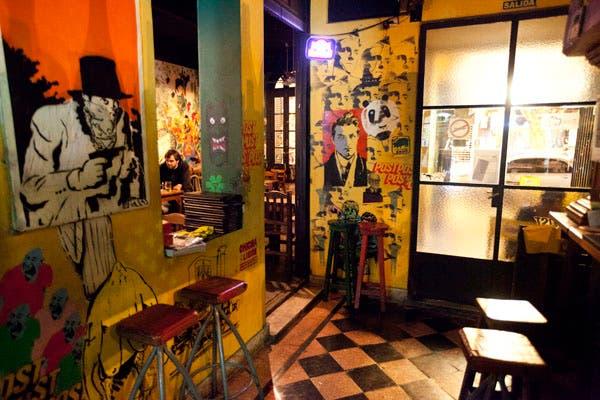 Para los amantes del street art, la galería Hollywood in Cambodia es una parada obligatoria. Foto: OHLALÁ! /Matias Aimar