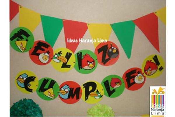 También, crean banderines de colores con distintos motivos, pueden ser personalizados. Foto: Foto: Gentileza ideas Naranja Lima
