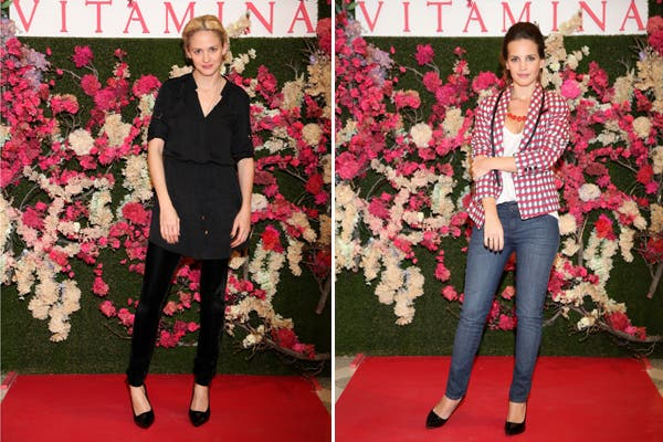 Leonora Balcarce y Sabrina Garciarena estuvieron presentes en la nueva colección de Vitamina. ¿Cuál de estos looks te gusta más?. Foto: Gentileza MassGrupoPR